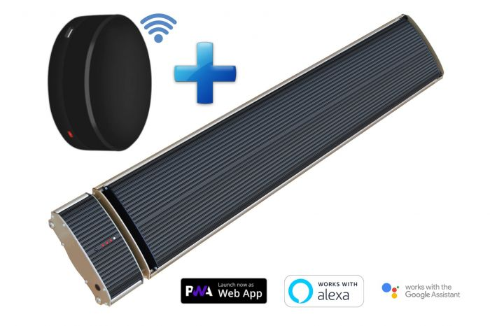 Chauffage à rayonnement infrarouge réglable Smart Bundle