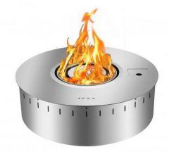 Brûleur intelligent de bioéthanol, rond